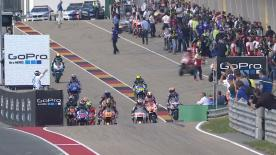 The full Warm Up session for the MotoGP™ World Championship at the German GP.