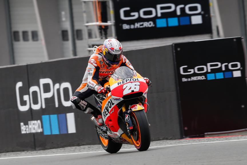 Dani Pedrosa, Repsol Honda Team, German GP RACE