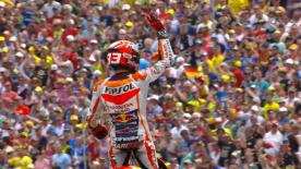 Marquez takes his second victory of the season in a Repsol Honda 1-2.