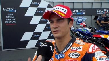 Pedrosa: 'A very long time since I was at the front fighting'