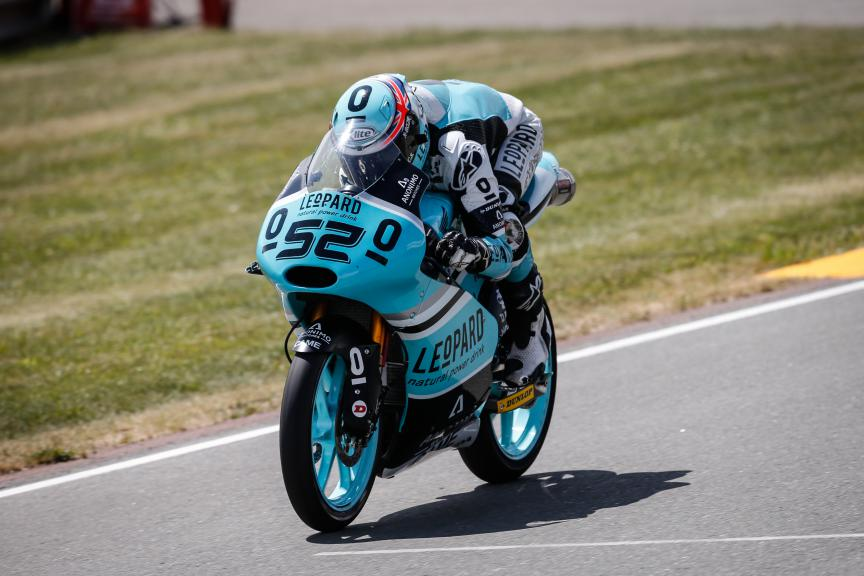 Danny Kent, Leopard Racing, German GP WUP