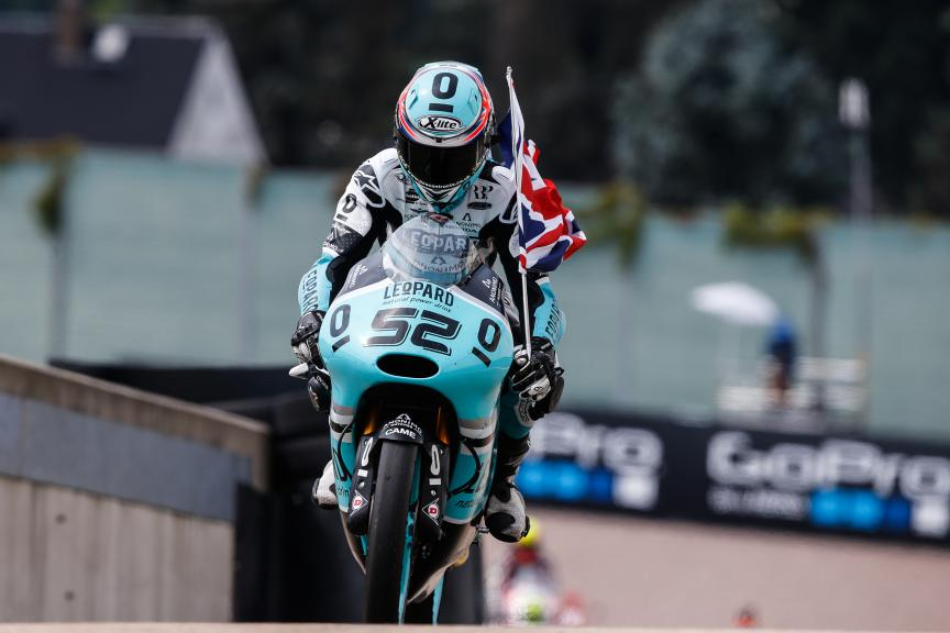 Danny Kent, Leopard Racing, German GP RACE