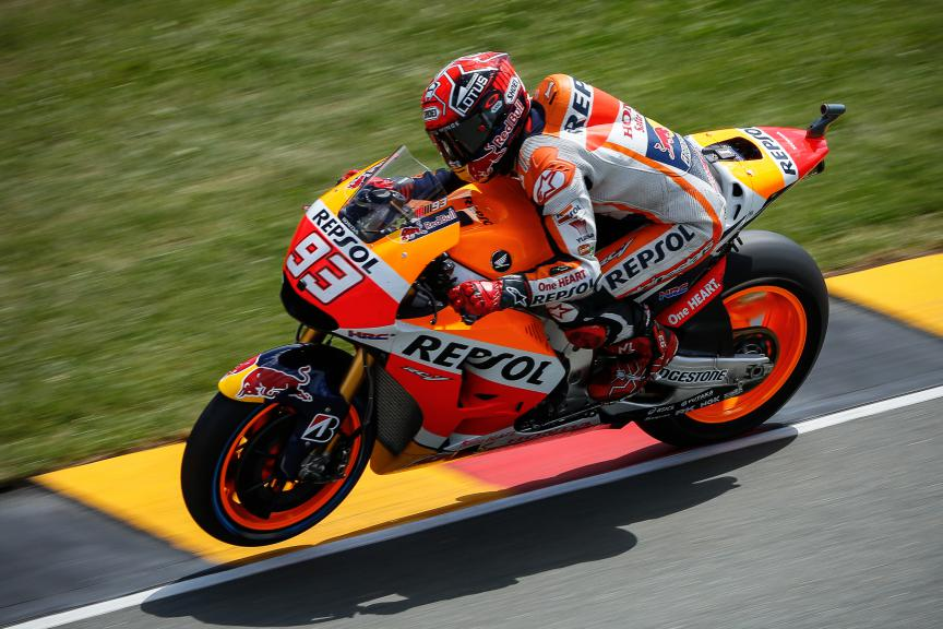 Marc Marquez, Repsol Honda Team, German GP RACE