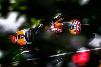 Márquez impone su ley en Sachsenring