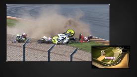 Wir haben uns die wichtigsten und spektakulärsten Stürze vom GoPro Motorrad Grand Prix Deutschland angeschaut.