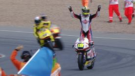Xavier Simeon hat beim Deutschland GP seinen ersten Moto2™ WM-Laufsieg gefeiert. Wir haben auf seinen Karriereweg bis da hin zurückgeschaut.