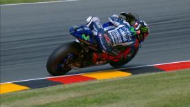 Otra carrera difícil para Lorenzo, que no pudo optar al podio en el Gran Premio GoPro de Alemania.