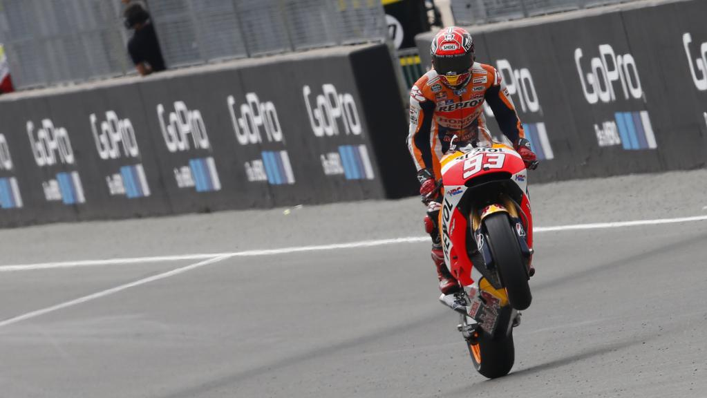 Marquez at the German GP
