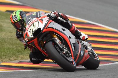 "M Laverty: ""I began to lose rear grip going into turns'"