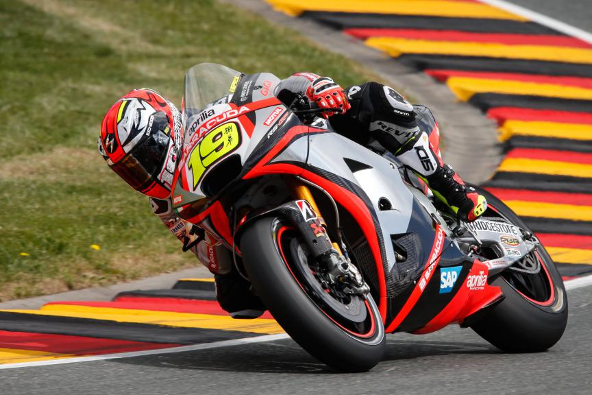 Alvaro Bautista, Aprilia Racing Team Gresini, German GP RACE