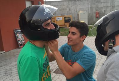 Marquez Blog: Dinner, go-karts, and laughs