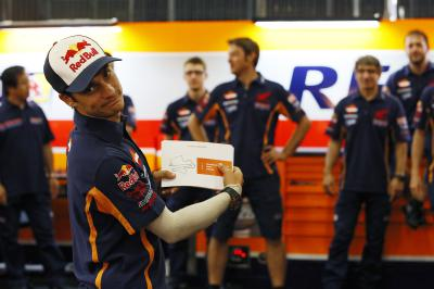 Dani Pedrosa and his crew: More than words
