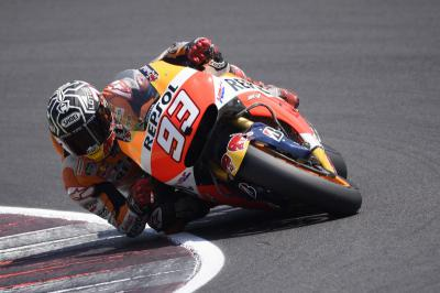 Marquez and Pedrosa begin three-day test at Misano