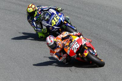 Rossi: 'I tried to beat Dani""