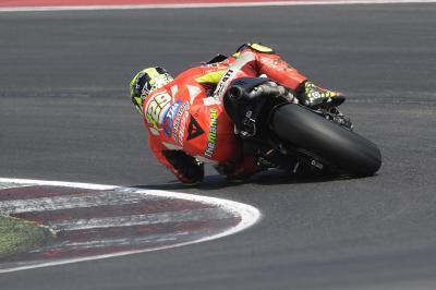 Ducati termine son test de deux jours à Misano