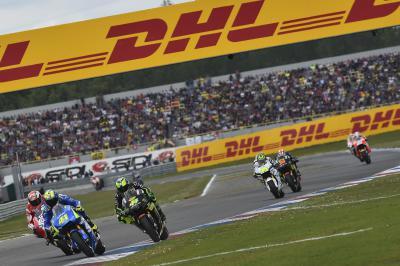 MotoGP y DHL firman un acuerdo oficial sobre logística
