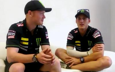 Smith & Espargaro discuss relationship as team mates