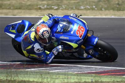 Positive test for Team Suzuki Ecstar in Misano