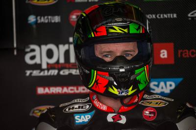 Michael Laverty fait le bilan de son week-end en Allemagne