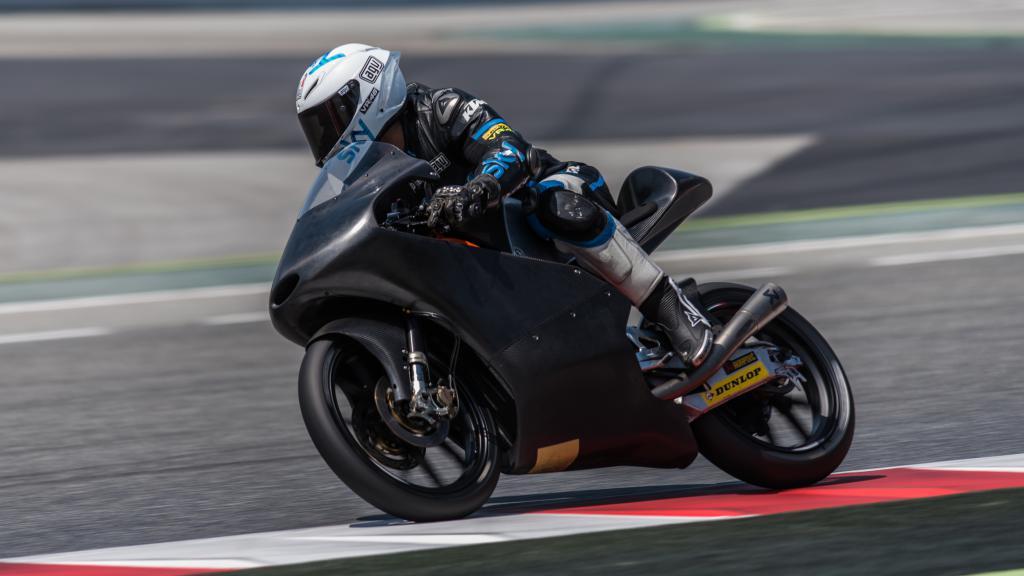 Fenati KTM Test Top Content Montmelo