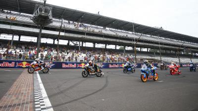 La lutte pour le titre Moto3™ reprend au Brickyard