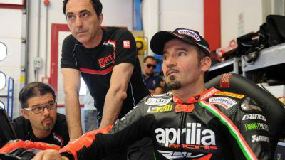 Biaggi: 'Bradl would be a gift for Aprilia'