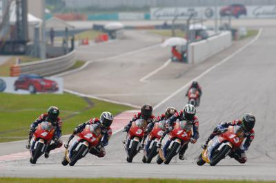 Activity begins in Sepang