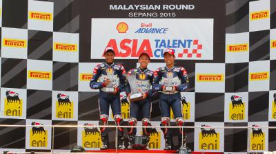 Sasaki takes first win of the year at Sepang