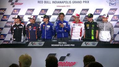 La conferencia de prensa inicia el #IndyGP