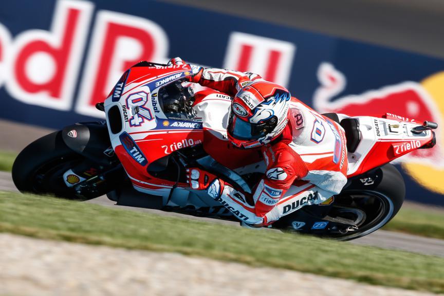 Andrea Dovizioso, Ducati Team, Indy FP2