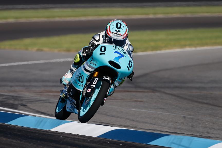 Efren Vazquez, Leopard Racing, Indy FP2