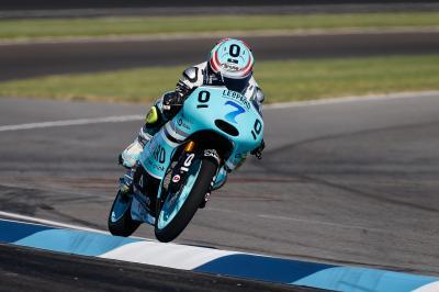 Vazquez beendet den Tag an der Spitze der Moto3™