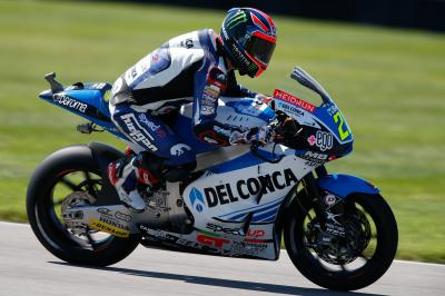 "Lowes: ""It was cool to get back on the bike"""