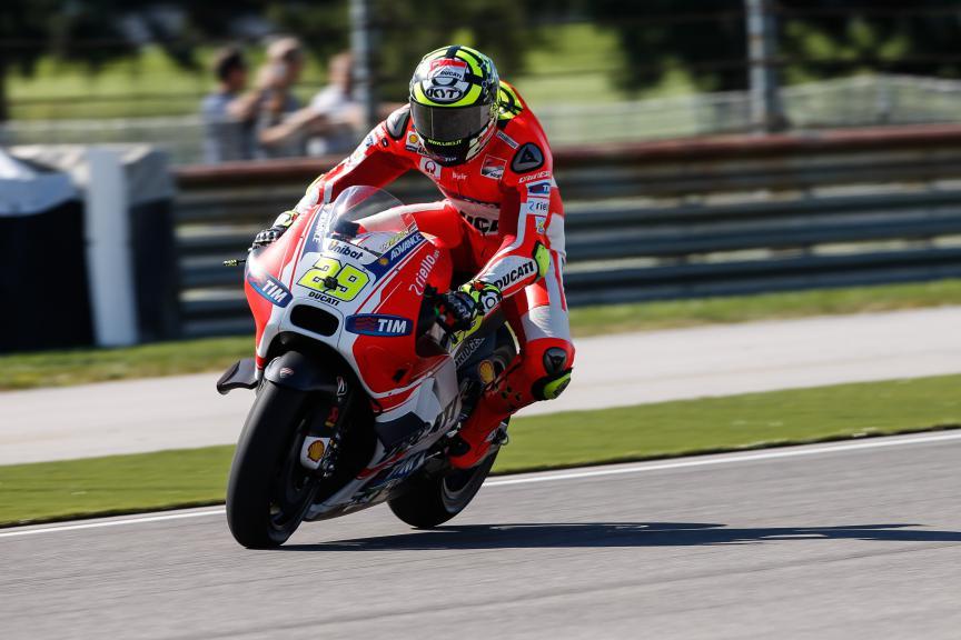 Andrea Iannone, Ducati Team, Indy FP2