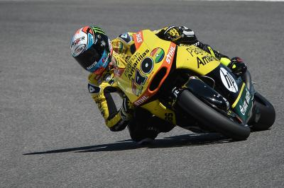 Rookie Rins leads the way in Moto2™ FP1