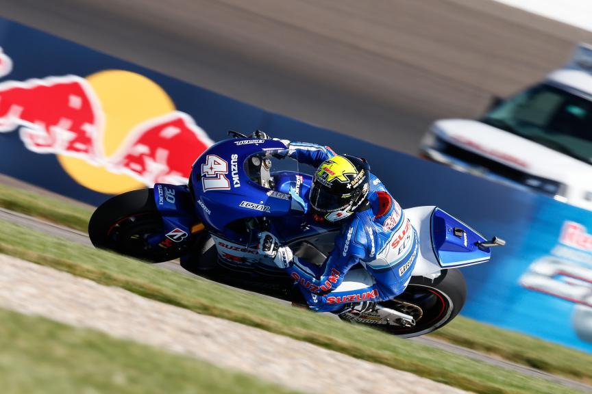 Aleix Espargaro, Team Suzuki Ecstar, Indy FP2