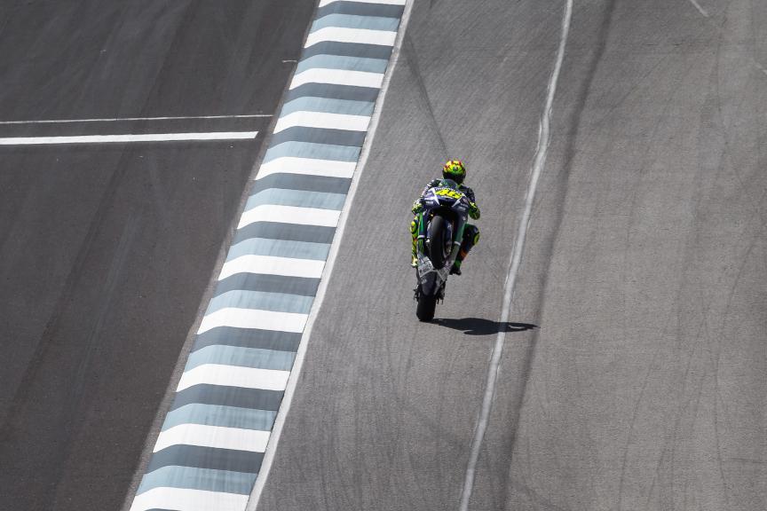 Valentino Rossi, Movistar Yamaha MotoGP, Indy FP2