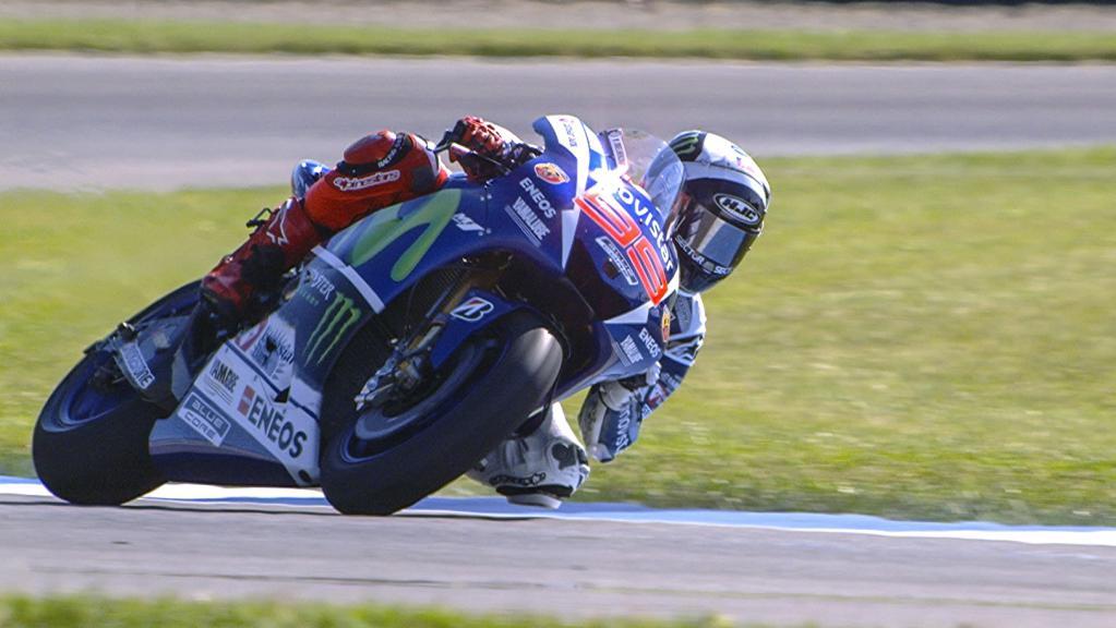 Jorge Lorenzo, Movistar Yamaha MotoGP, Indy GP FP1