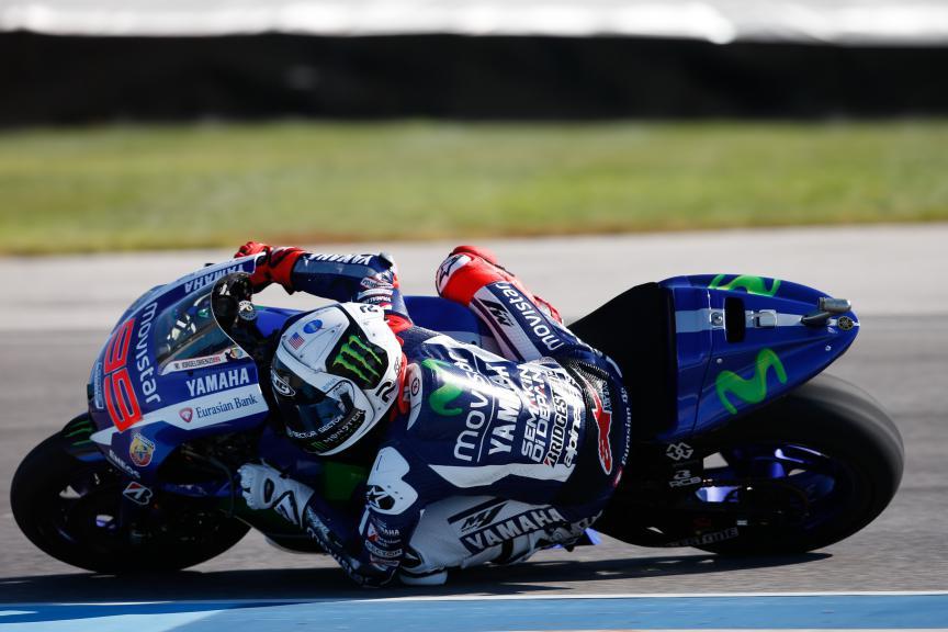 Jorge Lorenzo, Movistar Yamaha MotoGP, Indy FP2