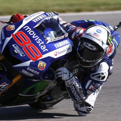 Lorenzo: «Hemos usado toda la sesión el neumático duro»