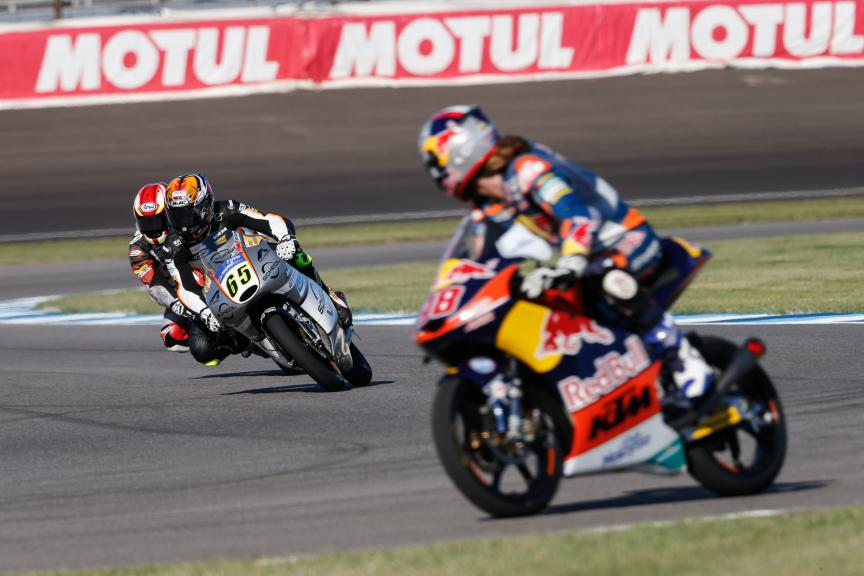 Moto3 Action, Indy FP2