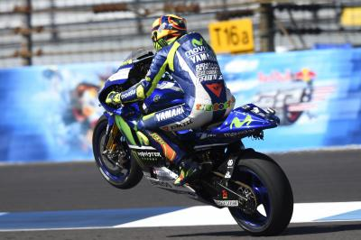 "Rossi: ""I didn't have enough feeling with the front"""