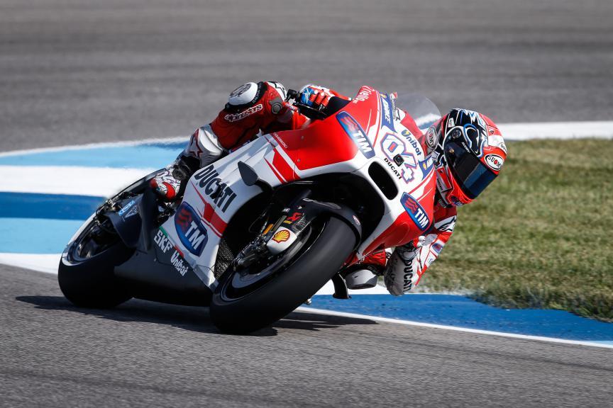 Andrea Dovizioso, Ducati Team, Indy Q1