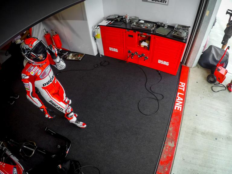 Andrea Dovizioso, Ducati Team, Indy Q2