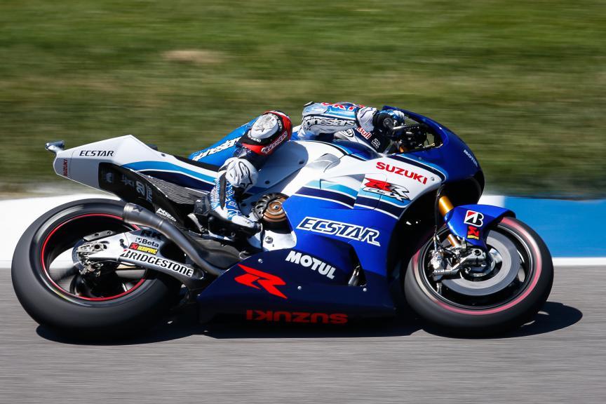 Maverick Viñales, Team Ecstar Suzuki, Indy FP3