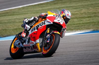 "Pedrosa: ""At the moment my race pace is slower"""