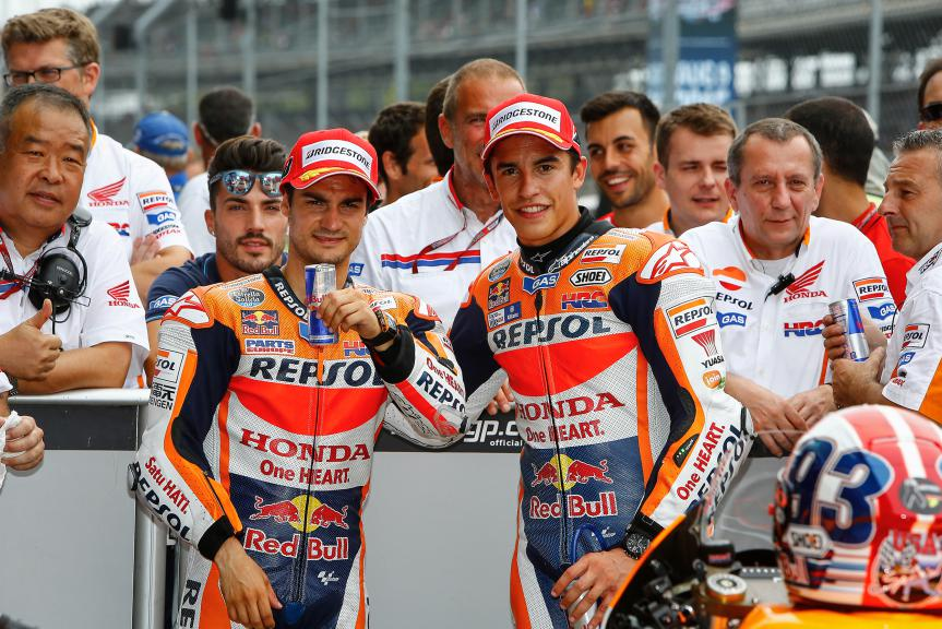 Dani Pedrosa, Marc Marquez, Repsol Honda Team, Indy Q2