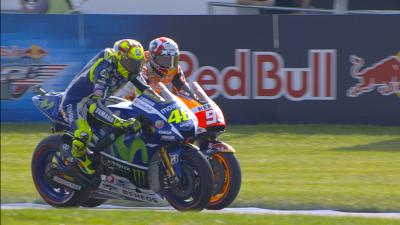 #IndyGP MotoGP™ qualifying in slow motion detail