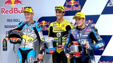 Rookie Rins takes sensational pole in Moto2™