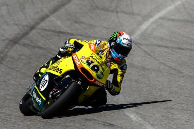 Rins domine les qualifications au Brickyard